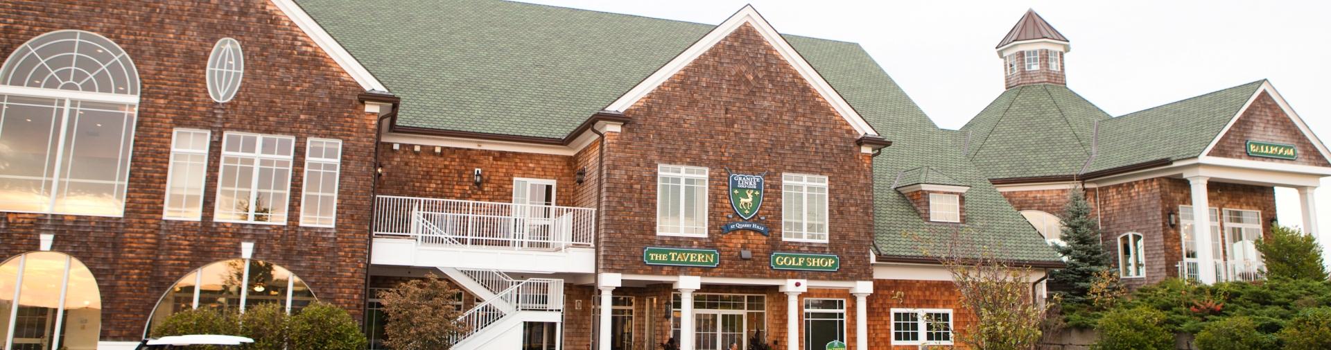 Event Facilities Quincy Ma Granite Links Golf Club